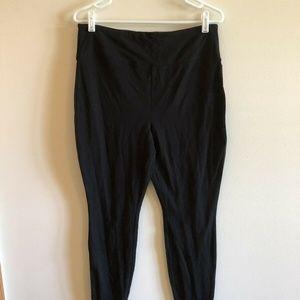 Mossimo black high waist leggings - womens L - NWT